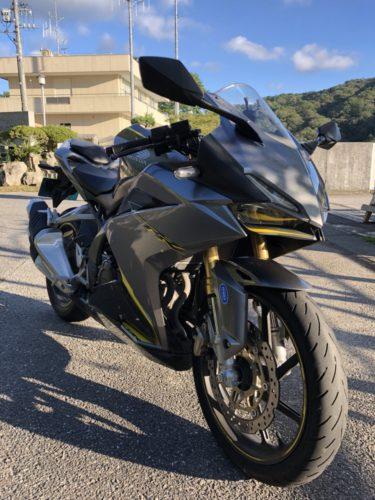 レンタルバイクで立ちゴケ CBR250RR 鳳来寺ツーリング