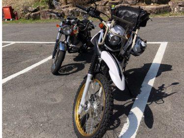 レンタルバイク エストレヤ250 付知峡ツーリング